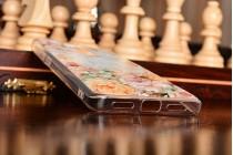 """Фирменная ультра-тонкая задняя панель-крышка-накладка из 3D силикона для Xiaomi Redmi 4 Pro 3GB+32Gb/ Android 6.0 / 1920:1080 / 5.0"""" / вспышка слева с объёмным рисунком """"тематика королевские Розы"""""""