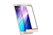 """Фирменное 3D защитное изогнутое стекло с закругленными изогнутыми краями которое полностью закрывает экран / дисплей по краям с олеофобным покрытием для Xiaomi Redmi 4 Pro 3GB+32Gb/ Android 6.0 / 1920:1080 / 5.0"""" / вспышка слева"""