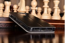 """Фирменный чехол-книжка водоотталкивающий с мульти-подставкой на жёсткой металлической основе для Xiaomi Redmi 4 Pro 3GB+32Gb/ Android 6.0 / 1920:1080 / 5.0"""" / вспышка слева черный"""