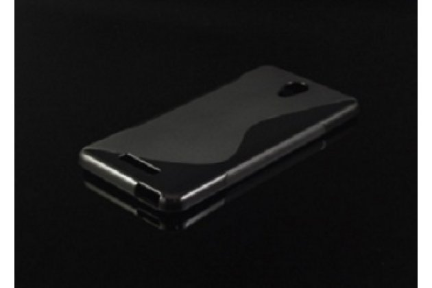"""Фирменная ультра-тонкая полимерная из мягкого качественного силикона задняя панель-чехол-накладка для Xiaomi Redmi Note 2/ Note 2 Prime 5.5""""  черная"""