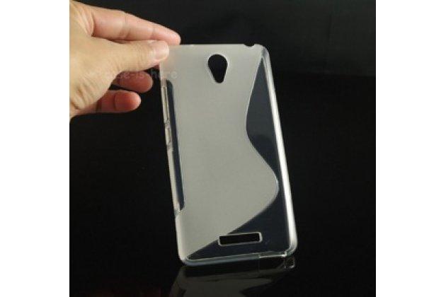 """Фирменная ультра-тонкая полимерная из мягкого качественного силикона задняя панель-чехол-накладка для Xiaomi Redmi Note 2/ Note 2 Prime 5.5"""" белая"""