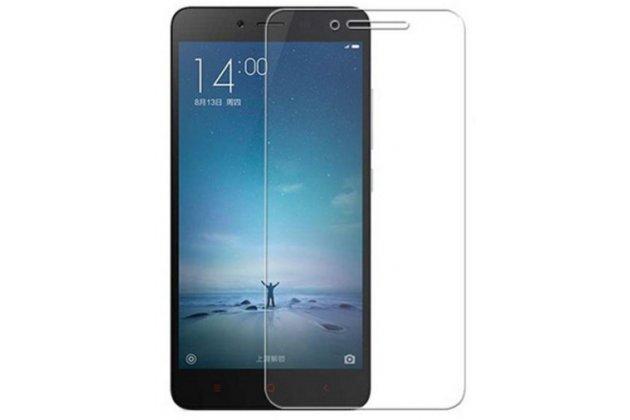 """Фирменная оригинальная защитная пленка для телефона Xiaomi Redmi Note 2/ Note 2 Prime 5.5""""   глянцевая"""
