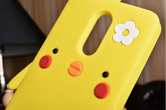 """Фирменная задняя панель-чехол-накладка с объёмным 3D изображением для Xiaomi Redmi Note 3 /Xiaomi Redmi Note 2 Pro 5.5""""  """"тематика Цыпленок"""""""