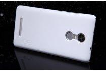 """Фирменная задняя панель-крышка-накладка из тончайшего и прочного пластика для Xiaomi Redmi Note 3 /Xiaomi Redmi Note 2 Pro 5.5"""" белая"""