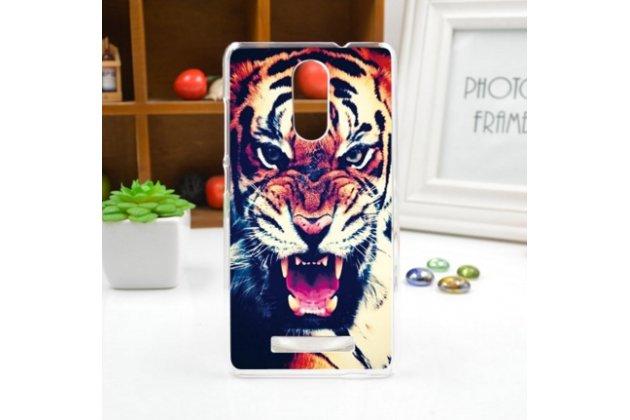 """Фирменная необычная из легчайшего и тончайшего пластика задняя панель-чехол-накладка для Xiaomi Redmi Note 3 /Xiaomi Redmi Note 2 Pro 5.5"""" """"тематика Тигр"""""""