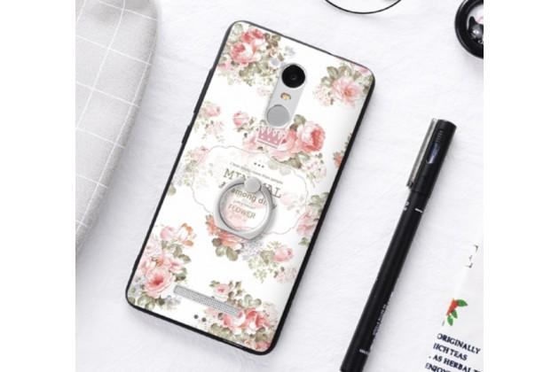"""Фирменная необычная из легчайшего и тончайшего пластика задняя панель-чехол-накладка для  Xiaomi Redmi Note 3 /Xiaomi Redmi Note 2 Pro 5.5"""" """"тематика Розы"""""""