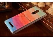 Фирменная необычная из легчайшего и тончайшего пластика задняя панель-чехол-накладка для  Xiaomi Redmi Note 3 ..