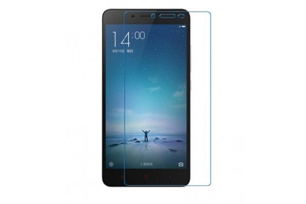 """Фирменная оригинальная защитная пленка для телефона Xiaomi Redmi Note 3 /Xiaomi Redmi Note 3 Pro 5.5"""" глянцевая"""