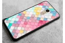 """Фирменная роскошная задняя панель-чехол-накладка из мягкого силикона с объемным  3D изображением на Xiaomi Redmi Note 4 5.5"""" с безумно красивым рисунком  """"Тематика Мозаики"""""""