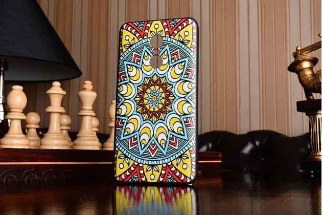 """Фирменная роскошная задняя панель-чехол-накладка из мягкого силикона с объемным  3D изображением на Xiaomi Redmi Note 4 с безумно красивым рисунком  """"Тематика Эклектические узоры"""""""