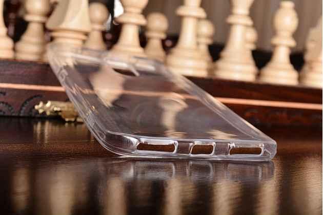 Фирменная ультра-тонкая полимерная из мягкого качественного силикона задняя панель-чехол-накладка для Xiaomi Redmi Note 4 прозрачная