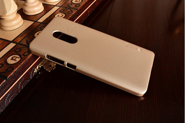 """Фирменная задняя панель-крышка-накладка из тончайшего и прочного пластика для  Xiaomi Redmi Note 4 5.5""""  золотая"""