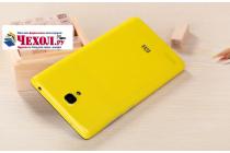 Родная оригинальная задняя крышка-панель которая шла в комплекте для Xiaomi Redmi Note 1 /Hongmi Note желтая