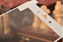 Фирменное защитное противоударное стекло которое полностью закрывает экран из качественного японского материала с олеофобным покрытием для телефона Xiaomi Mi Note/Mi Note Pro с защитой сенсорных кнопок и камеры