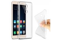 """Фирменная ультра-тонкая полимерная из мягкого качественного силикона задняя панель-чехол-накладка для Xiaomi Redmi Pro 5.5"""" прозрачная"""