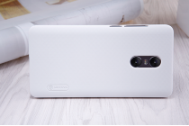 """Фирменная задняя панель-крышка-накладка из тончайшего и прочного пластика для Xiaomi Redmi Pro 5.5"""" белая"""