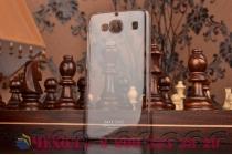 """Фирменная ультра-тонкая пластиковая задняя панель-чехол-накладка для Xiaomi Hongmi 2 2A/ Redmi 2 / Redmi 2 Pro 4.7"""" прозрачная"""