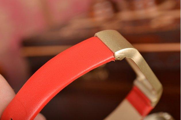 Фирменный кожаный сменный цветной ремешок из натуральной кожи для спортивного браслета Xiaomi Mi Band 1S Pulse