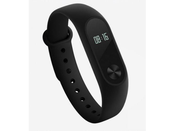 Фирменный оригинальный спортивный умный смарт-фитнес браслет Xiaomi Mi Band 2 с пульсометром/датчиком пульса +..