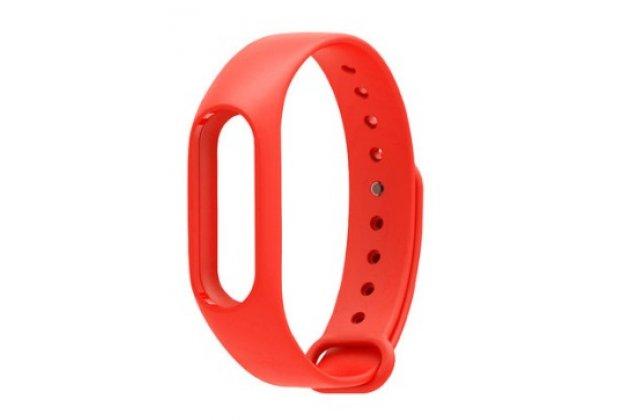 Фирменный сменный цветной ремешок для спортивного браслета Xiaomi Mi Band 2 разноцветный