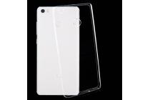 """Фирменная ультра-тонкая полимерная из мягкого качественного силикона задняя панель-чехол-накладка для Xiaomi Mi Max 6.4"""" прозрачная"""