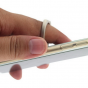 Антиграбежная металлическая подставка/держатель/крепление которое крепится/наклеивается к задней стенке телефона чтобы удерживать телефон одной рукой/пальцем