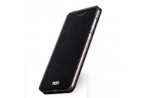 """Фирменный чехол-книжка из качественной водоотталкивающей импортной кожи на жёсткой металлической основе для Xiaomi Mi Max 6.4"""" черный"""