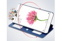 """Фирменный чехол-книжка  с окошком для входящих вызовов и свайпом  для  Xiaomi Mi Max 6.4"""" водоотталкивающий черный"""