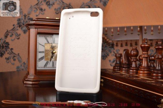 """Фирменная необычная уникальная полимерная мягкая задняя панель-чехол-накладка для Xiaomi Mi Note/Mi Note Pro """"тематика Андроид в Белом Шоколаде"""""""