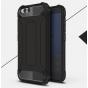 Противоударный усиленный ударопрочный фирменный чехол-бампер-пенал для Xiaomi Mi6 черный..