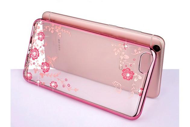 """Фирменная роскошная задняя панель-чехол-накладка из мягкого силикона с объемным  3D изображением  на  Xiaomi Mi6 c с безумно красивым рисунком  """"тематика Цветущая сакура"""""""