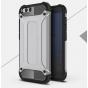 Противоударный усиленный ударопрочный фирменный чехол-бампер-пенал для Xiaomi Mi6 серебристый..