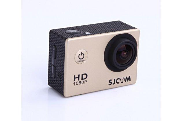 Фирменная оригинальная портативная спортивная экшн-камера SJCAM SJ4000 беспроводная черного цвета