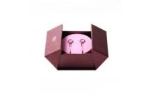 100% ПОДЛИННЫЕ наушники-вкладыши Xiaomi Piston Pink розовые с кристаллами Swarovski  для всех моделей телефонов + гарантия