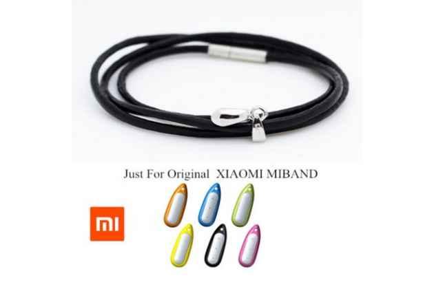 Фирменные оригинальные ожерелья из силикона со стальным креплением для активного модуля фитнес браслета Xiaomi mi band