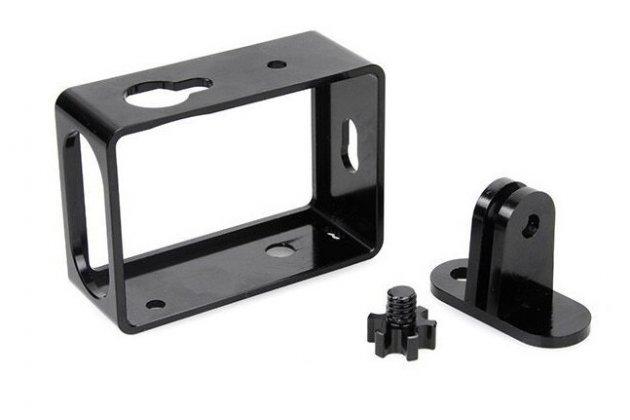 Фирменная пластиковая рамка с крепежом для портативной спортивной экшн-камеры Xiaomi Yi Action Camera