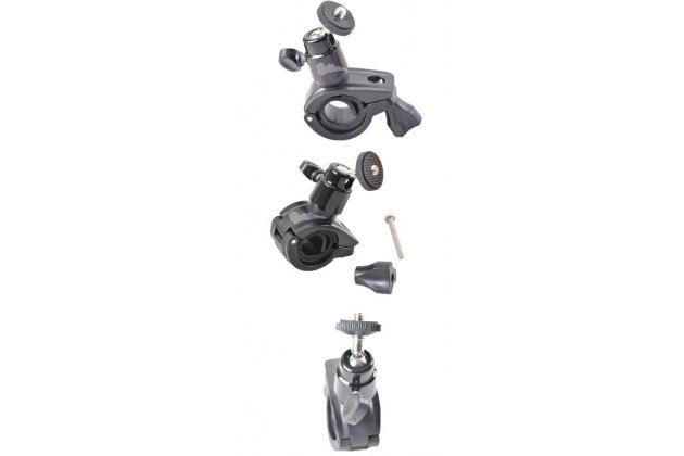 Фирменное держатель-крепление на велосипед/мотоцикл для спортивной фото-видео-экшн-камеры Xiaomi Yi металлическое