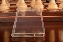 Фирменная ультра-тонкая полимерная из мягкого качественного силикона задняя панель-чехол-накладка для Xiaomi Mi3 белая