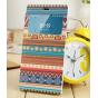 Фирменный чехол-книжка с безумно красивым расписным эклектичным узором на Xiaomi MI3  с окошком для звонков..