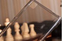 Фирменная ультра-тонкая полимерная из мягкого качественного силикона задняя панель-чехол-накладка для Xiaomi Mi3 черная
