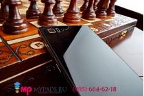 Фирменная металлическая задняя панель-крышка-накладка из тончайшего облегченного авиационного алюминия для Xiaomi MI3 черная