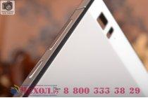 Фирменная металлическая задняя панель-крышка-накладка из тончайшего облегченного авиационного алюминия для Xiaomi MI3 серебристая
