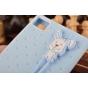 Фирменная необычная уникальная полимерная мягкая задняя панель-чехол-накладка для Xiaomi MI3