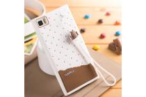 """Фирменная необычная уникальная полимерная мягкая задняя панель-чехол-накладка для Xiaomi MI3 """"тематика Андроид в Белом Шоколаде"""""""