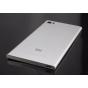 Родная оригинальная задняя крышка-панель которая шла в комплекте для Xiaomi Mi3 серебристая..