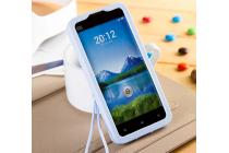 """Фирменная необычная уникальная полимерная мягкая задняя панель-чехол-накладка для Xiaomi mi2s  """"тематика Андроид в черничном шоколаде"""""""