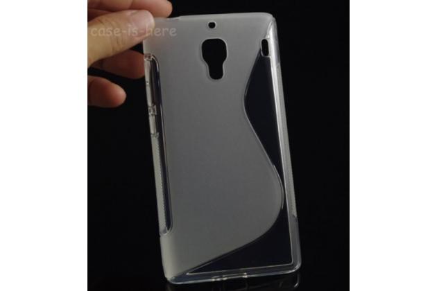 Фирменная ультра-тонкая полимерная из мягкого качественного силикона задняя панель-чехол-накладка для Xiaomi Red Rice/Red Rice 1S белая