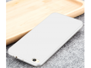 Фирменная задняя панель-чехол-накладка с защитными заглушками с защитой боковых кнопок для Xiaomi Mi 5C серебр..