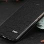 Фирменный чехол-книжка водоотталкивающий с мульти-подставкой на жёсткой металлической основе для Xiaomi Mi 5C черный