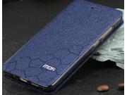 Фирменный чехол-книжка водоотталкивающий с мульти-подставкой на жёсткой металлической основе для Xiaomi Mi 5C ..
